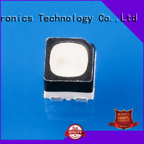 Tranch customized rgb power led white shell for display