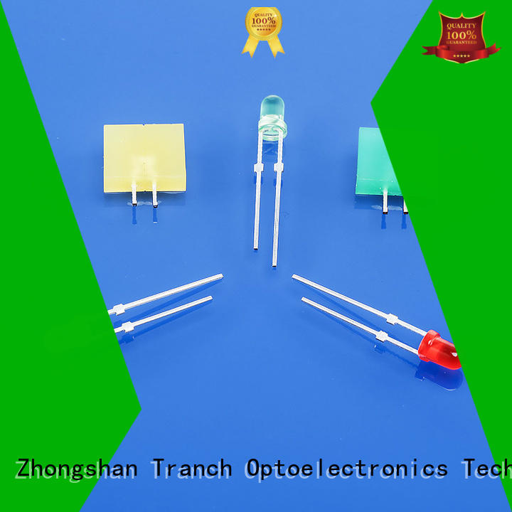 Tranch customized bicolor led 3mm with oem service for road traffic information