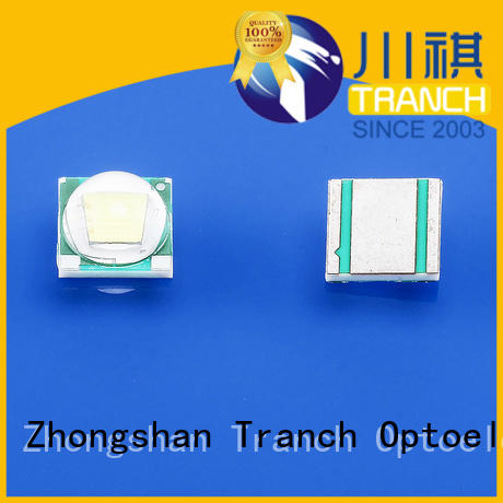 Tranch customized smd led white shell for display