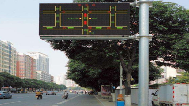 Custom Red Led Lights LED road traffic information