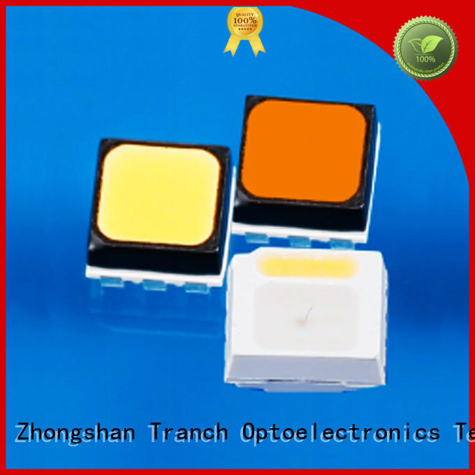 Tranch black smd white led supplier for road traffic information