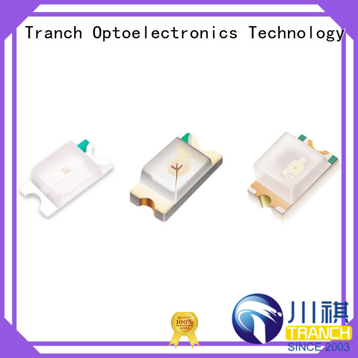 Tranch smd led chip white shell for display