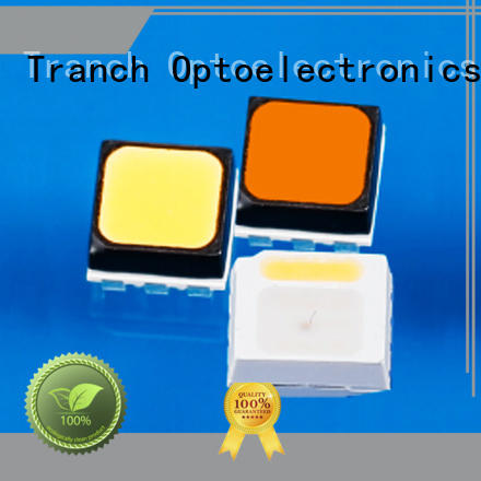 Tranch white chip led black shell for road traffic information