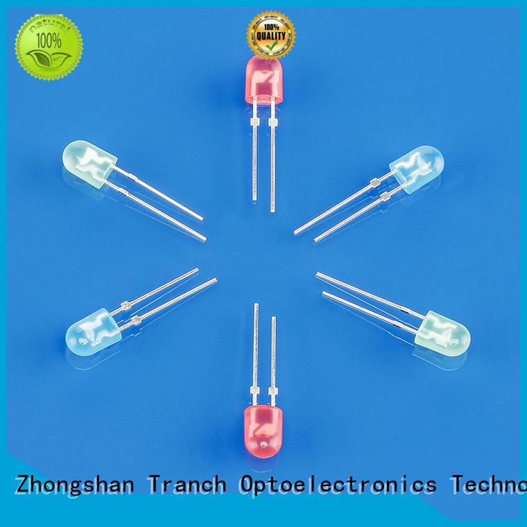 Tranch led rgb dip led color supplier