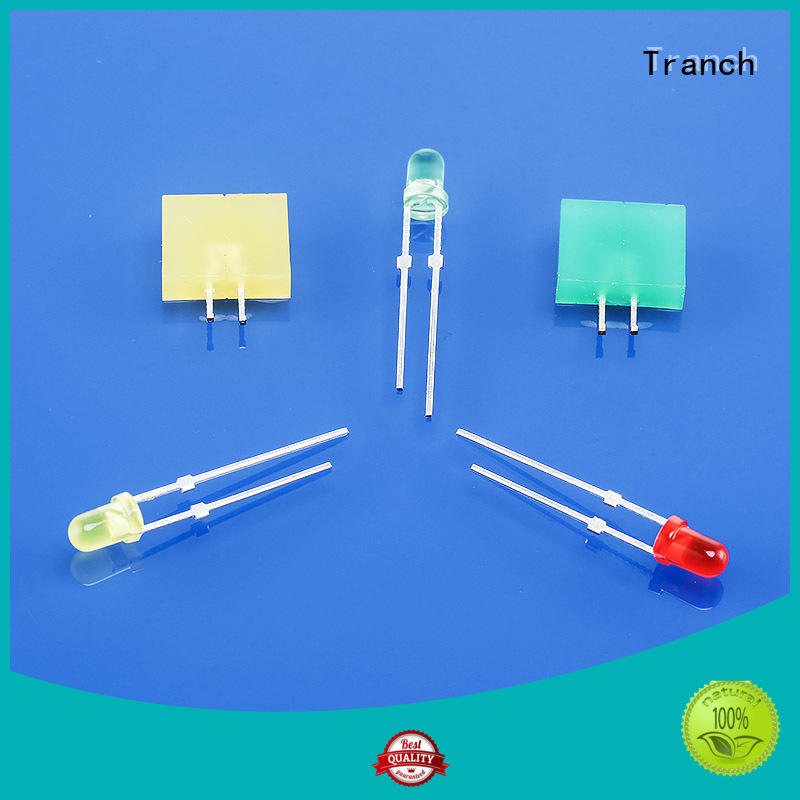 Tranch colored led indicator lamp manufacturer for brightening