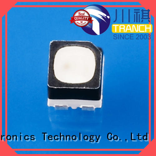 Tranch rgb led chip white shell for road traffic information