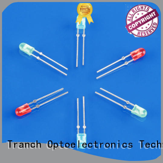 Tranch white dip type led supplier