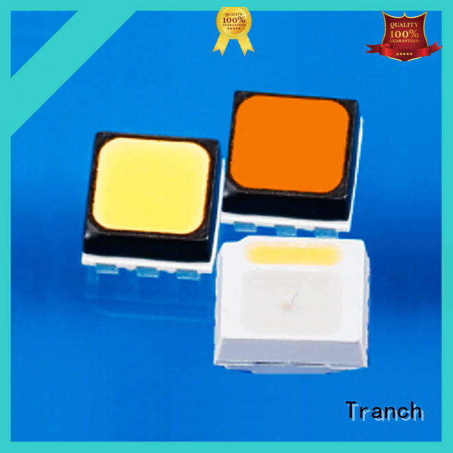 Tranch white led chip white shell for road traffic information