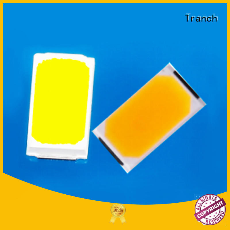 Tranch yellow 2835 led chip for display