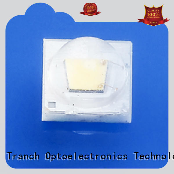 Tranch white plant grow light black shell for display