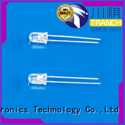 Tranch white led 265nm with electrostatic protection for display