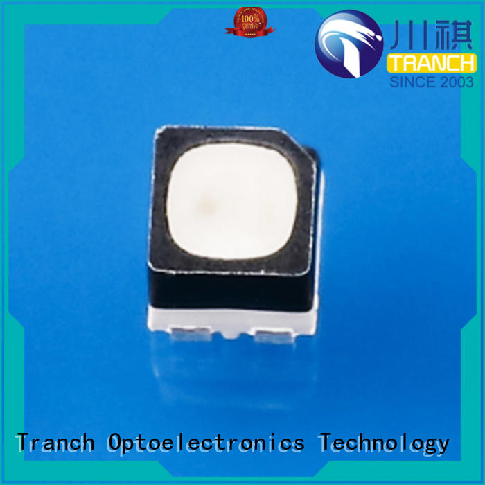 efficient surface mount rgb led black shell for road traffic information Tranch