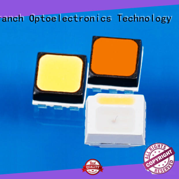 efficient rgb smd led chip black shell for road traffic information Tranch