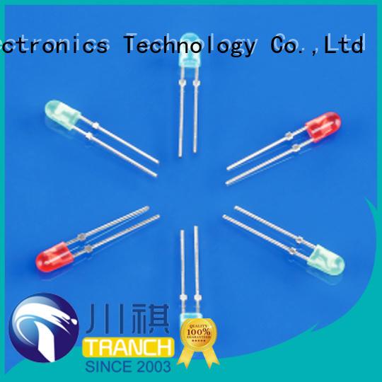 Tranch lamp dip rgb led color