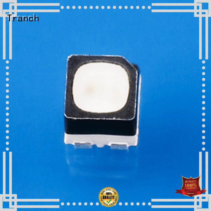 Tranch fast delivery chip led rgb white shell for display