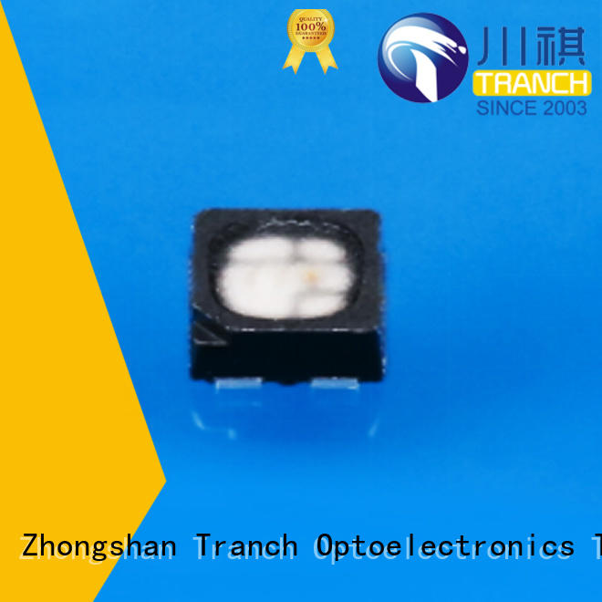 Tranch beautiful rgb power led white shell for display
