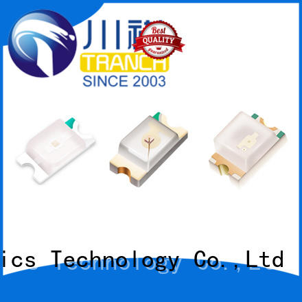 Tranch fast delivery led emitter chip with rohs specification for automatic mounting equipment