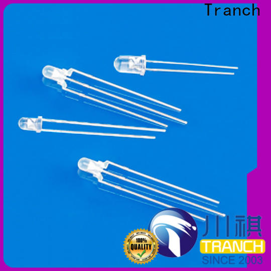 Tranch white led indicator lamp with oem service for lighting