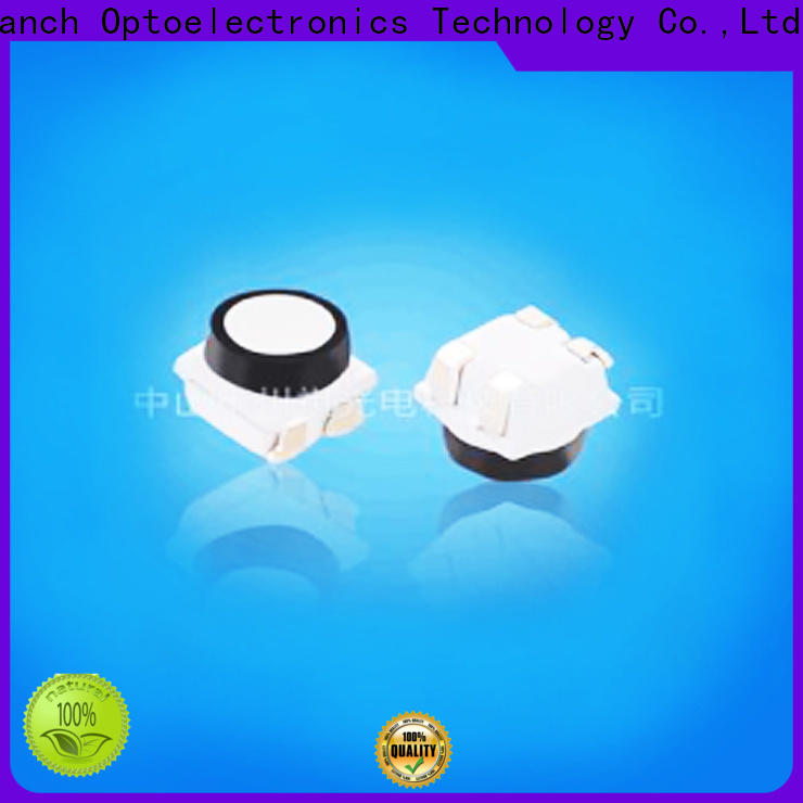 Tranch colorful rgb smd led white shell for brightening
