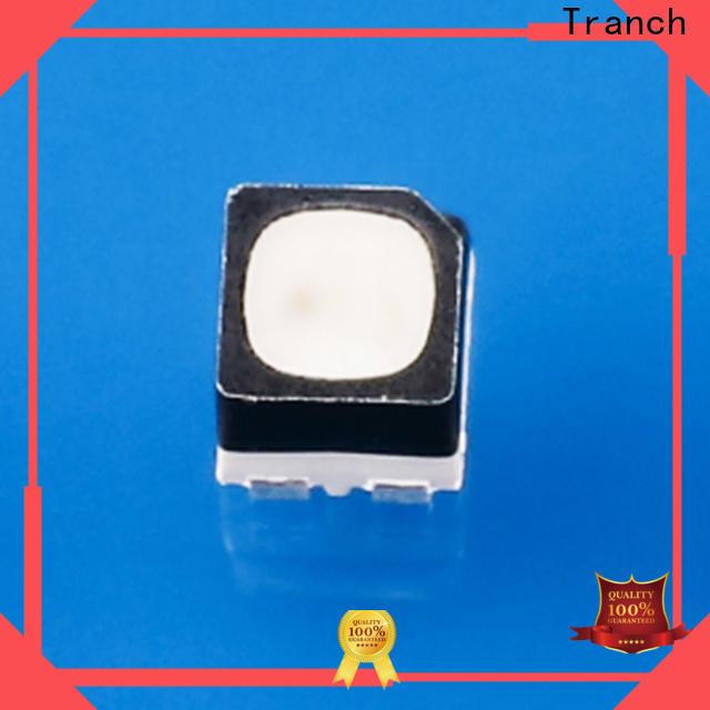 Tranch customized smd rgb led black shell for display