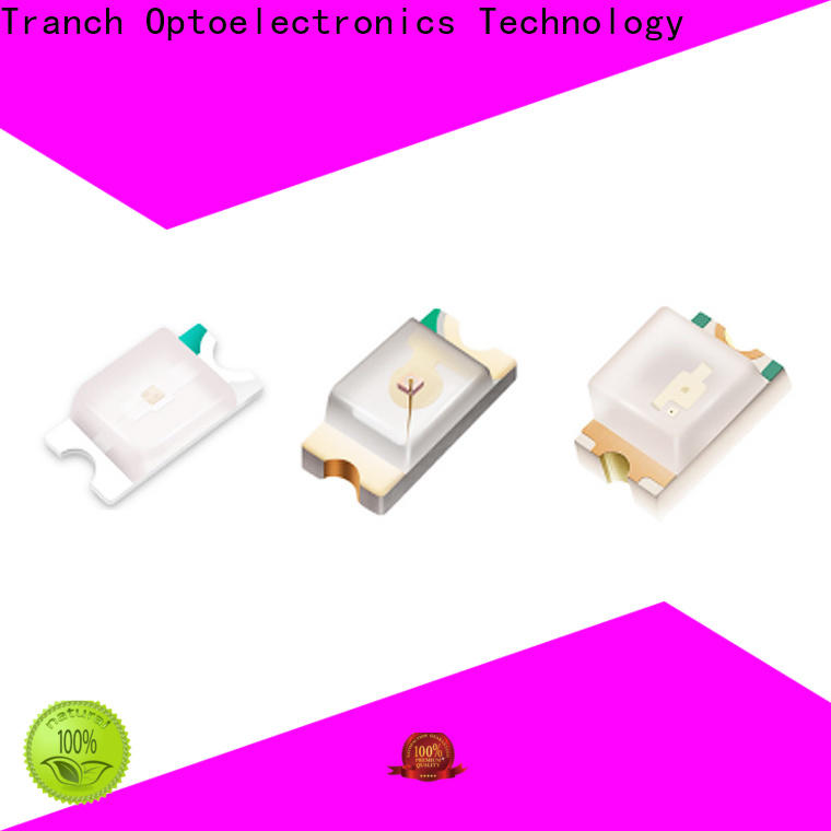 Tranch led rgb smd white shell for display