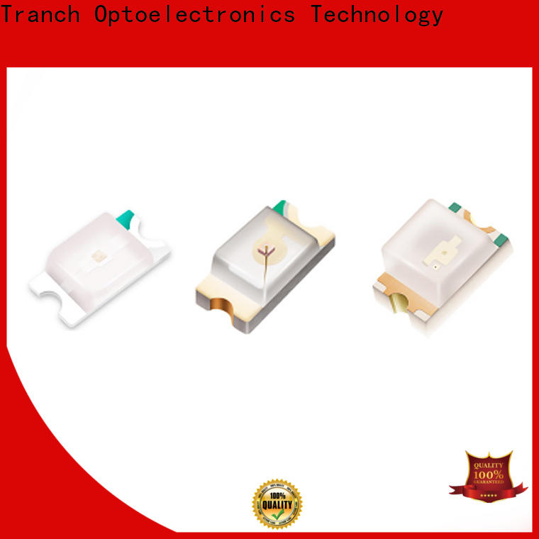 Tranch white surface mount led manufacturer for display