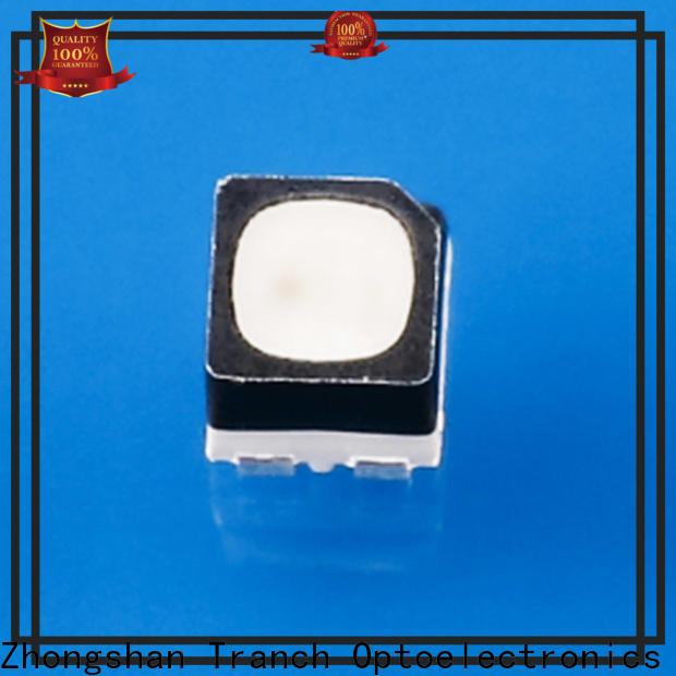 Tranch colorful chip led white shell for display