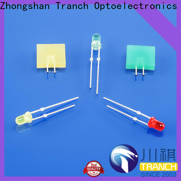 Tranch two color led with oem service for display