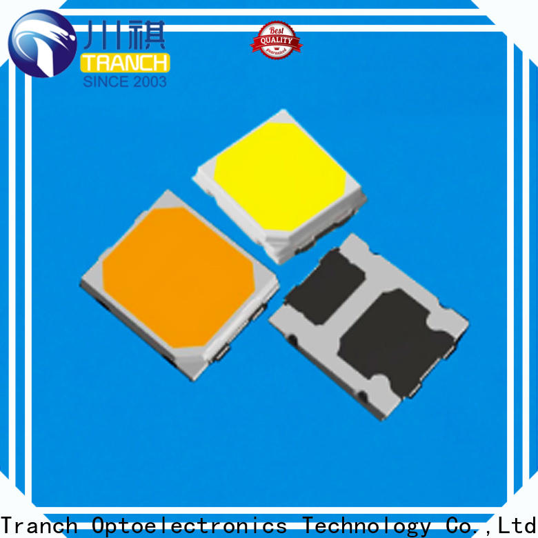 Tranch chip led white shell for display