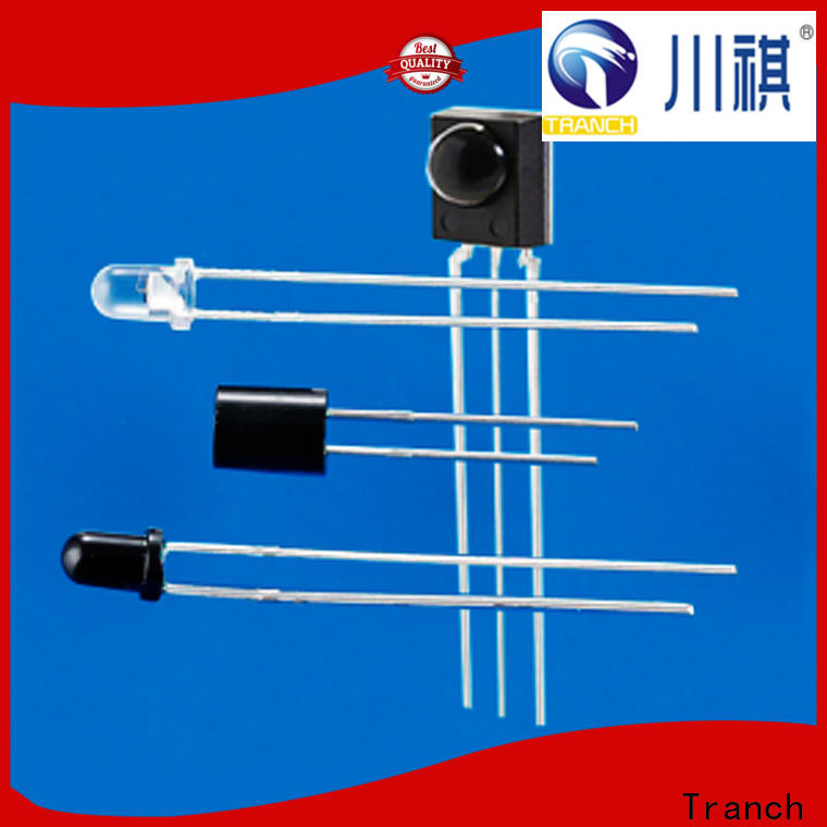Tranch new infrared diode emission reception for front panel design