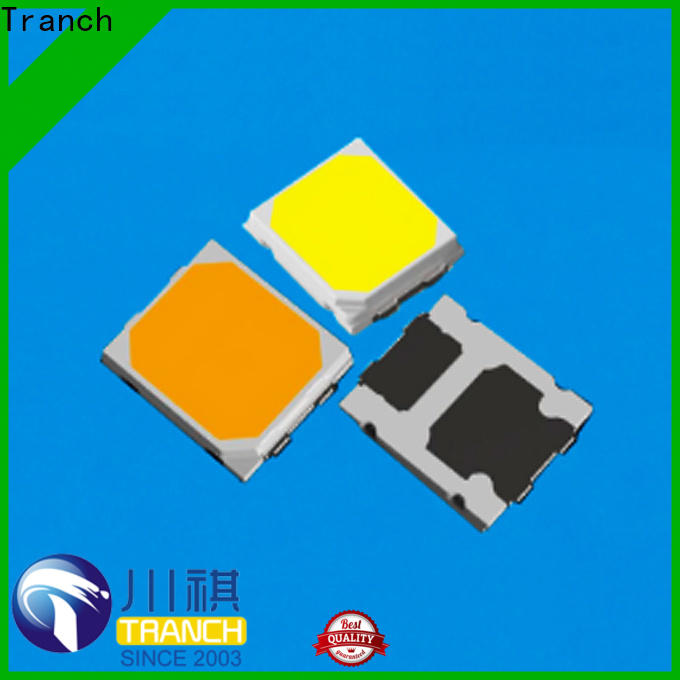 Tranch surface mount led white shell for brightening