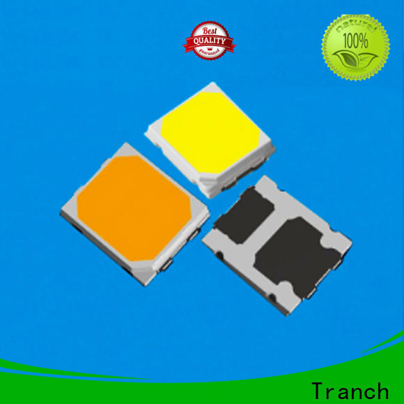 Tranch led smd 3535 white shell for display